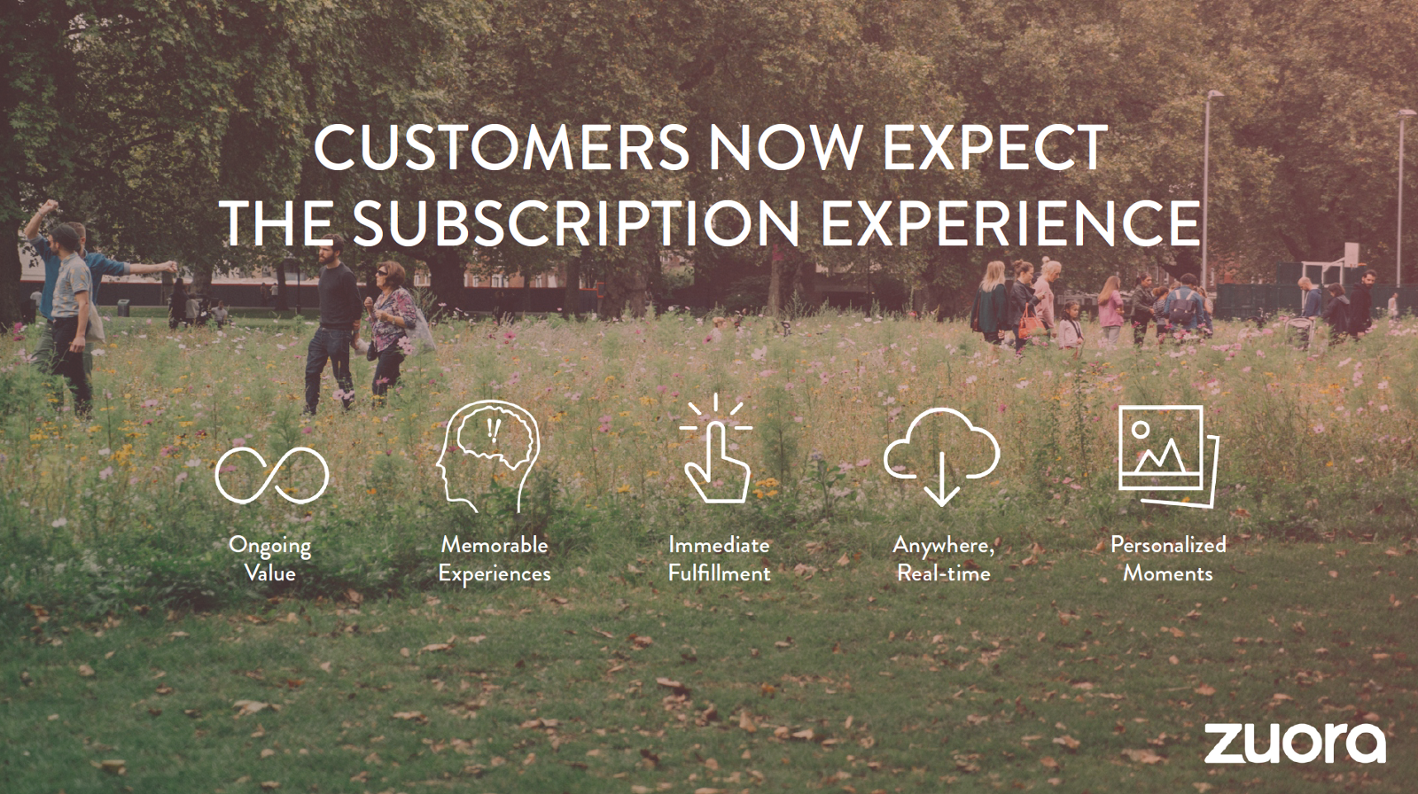 Customers now expect the subscription experience - Zuora sales deck