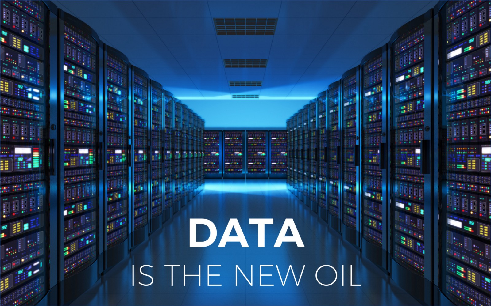 data is the new oil - Salesflare sales deck