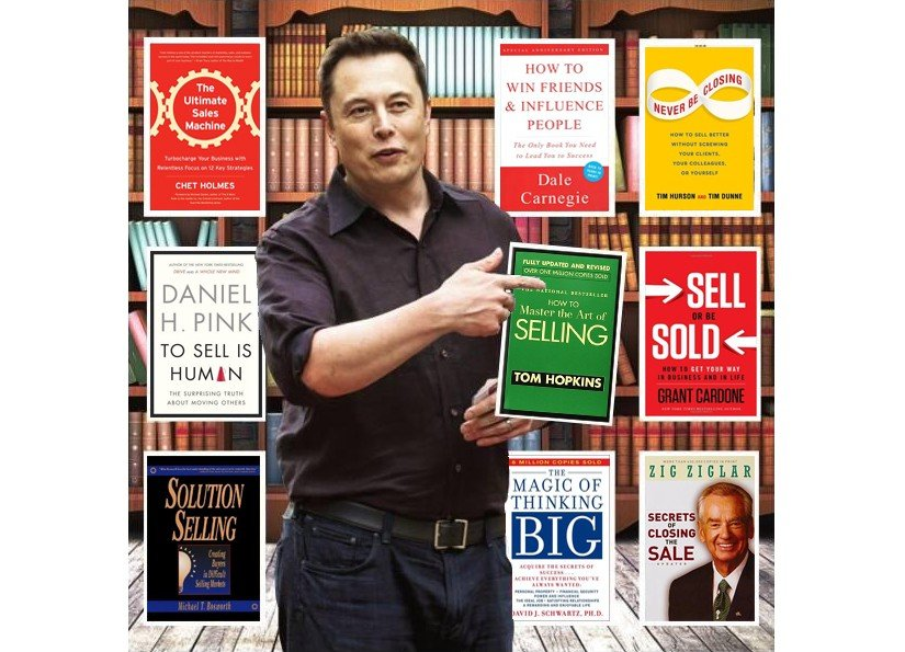 Elon Musk sales book recommendation