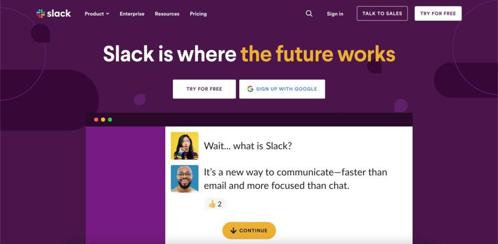 slack messenger app