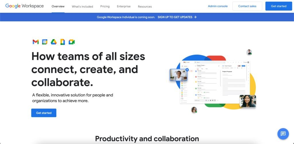 G Suite Google Workspace